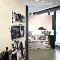 "exhibit out of a box: Ausstellung ""Kriegspassage1"" von Wolf Böwig und Black.Light Project"